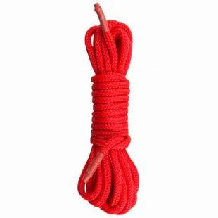 Corda Bondage EasyToys Vermelha 5 metros