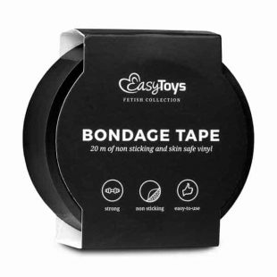 Fita Bondage EasyToys Preta 20 metros