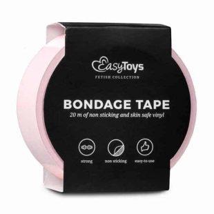 Fita Bondage EasyToys Rosa 20 metros