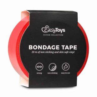 Fita Bondage EasyToys Vermelha 20 metros