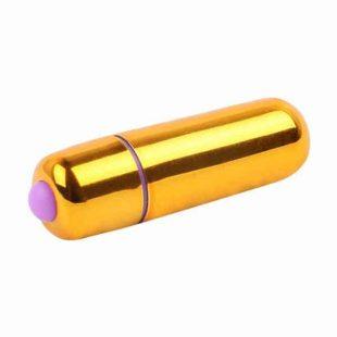 Vibrador Mini Vibe Bullets Dourado