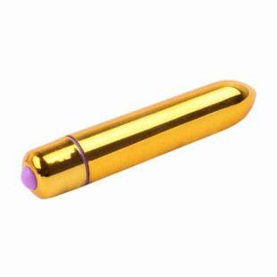 Vibrador Mini Vibe Dourado