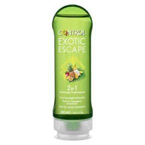 Gel Massagem Control 2 em 1 Exotic Escape 200ml