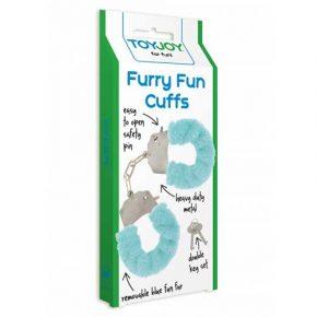 Algemas ToyJoy Aqua Furry Fun Cuffs