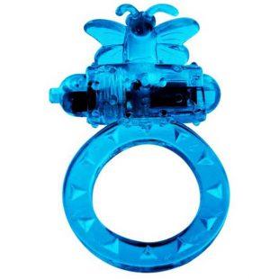 Anel Vibratório Borboleta Azul