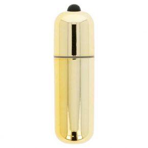 Bala Vibratória Glossy Premium Vibe Dourada