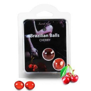 Bolinhas Explosivas Brazilian Balls Cereja 2un