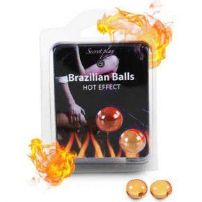 Bolinhas Explosivas Brazilian Balls Efeito Calor 2un