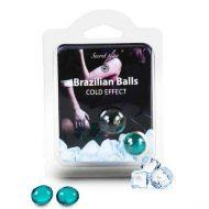 Bolinhas Explosivas Brazilian Balls Efeito Frio 2un