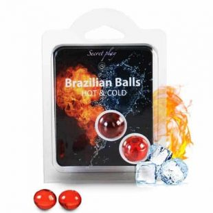Bolinhas Explosivas Brazilian Balls Efeito Frio & Quente 2un