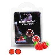 Bolinhas Explosivas Brazilian Balls Morango 2un