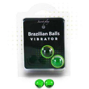 Bolinhas Explosivas Brazilian Balls Efeito Vibrante 2un