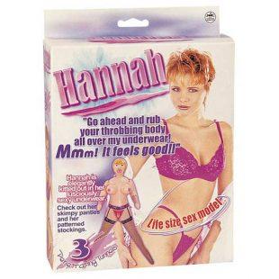 Boneca Insuflável Hannah Sex Model
