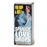 Gotas Afrodisíacas Spanish Love Drops 15ml