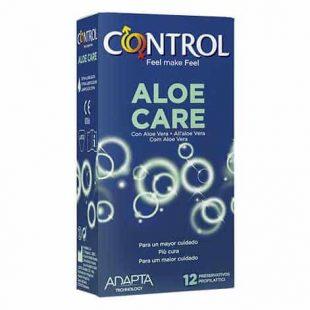 Preservativos Control Aloe Care 12un