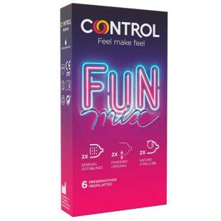 Preservativos Control Fun Mix 6un