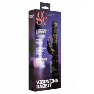 Vibrador GC Vibrating Rabbit Preto