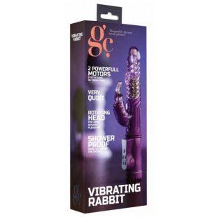 Vibrador GC Vibrating Rabbit Roxo