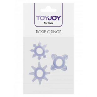 Anéis Penianos Tickle C-Rings 3un