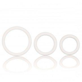 Anéis Penianos White Rubber Ring Set 3un