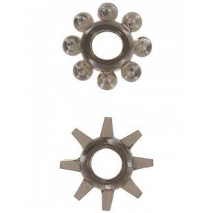 Anéis Power Stretchy Rings Cinza 2un