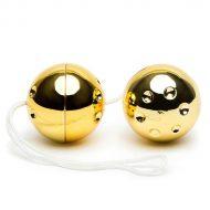 Bolas Vaginais Vibratone Gold Balls