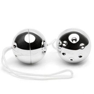 Bolas Vaginais Vibratone Silver Balls