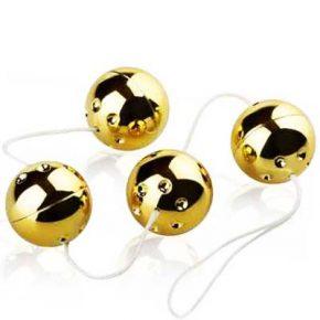 Bolas Vaginais Vibro Gold Balls