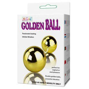 Bolas Vaginais com Vibração Golden Balls