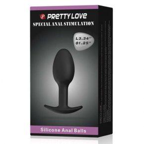 Butt Plug em Silicone Anal Ball