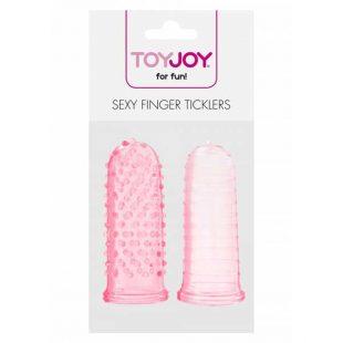 Dedeiras Estimulantes Sexy Finger Ticklers Rosa