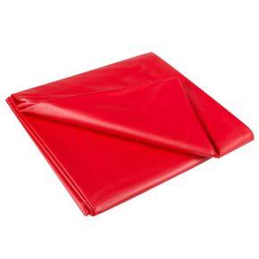 Lençol em Vinil SexMax Vermelho 180X220cm