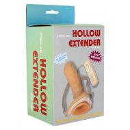 Strap-On Oco com Vibração Hollow Extender