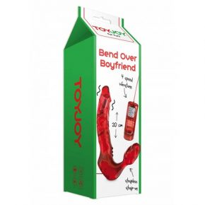 Strapless Strap-On com Vibração Bend Over Boyfriend