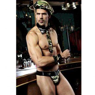 Fantasia Masculina de Militar Sexy