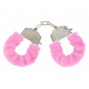 Algemas ToyJoy Pink Furry Fun Cuffs
