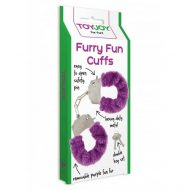 Algemas ToyJoy Purple Furry Fun Cuffs