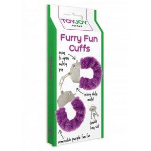Algemas ToyJoy Purple Furry Fun Cuffs