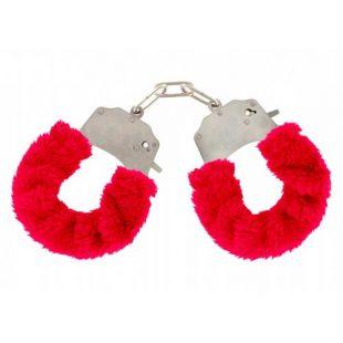 Algemas ToyJoy Red Furry Fun Cuffs