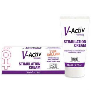 Creme Estimulante Feminino V-Activ 50ml