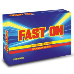 Fast On 5 Comprimidos