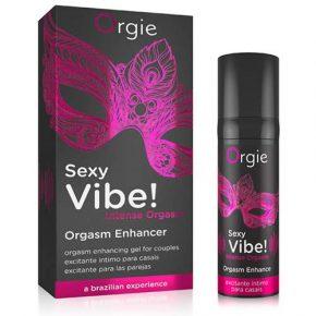 Gel Excitante para Casais Efeito Vibrante Orgie Sexy Vibe! Intense Orgasm 15ml