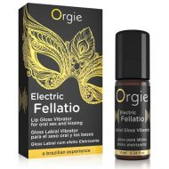 Gloss Labial Efeito Vibrante Orgie Electric Fellatio 10ml