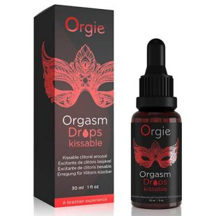 Gotas Estimulantes do Clitóris Orgie Kissable Orgasm Drops 30ml