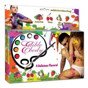 Pintura Corporal Comestível Edible Body Paint 4un