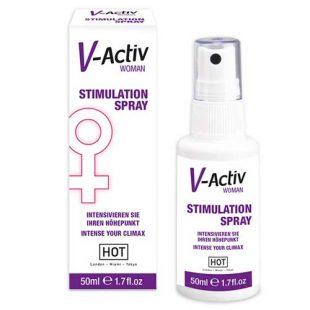 Spray Estimulante Feminino V-Activ 50ml