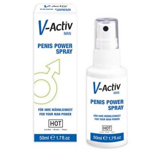 Spray Potenciador Masculino V-Activ 50ml