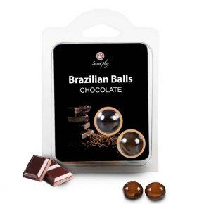 Bolinhas Explosivas Brazilian Balls Chocolate 2un