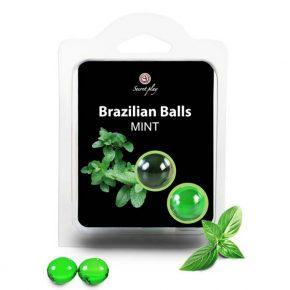 Bolinhas Explosivas Brazilian Balls Menta 2un