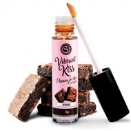 Gloss Labial Vibrant Kiss Brownie 6g